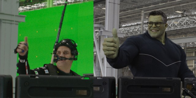 Behind Smart Hulk