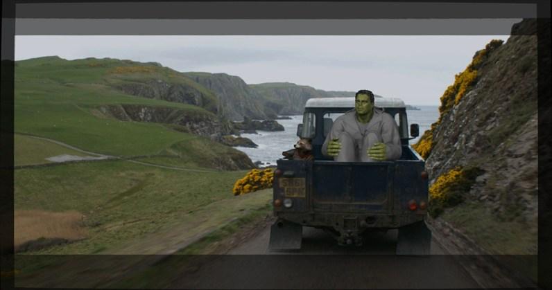 ILM's CG Hulk