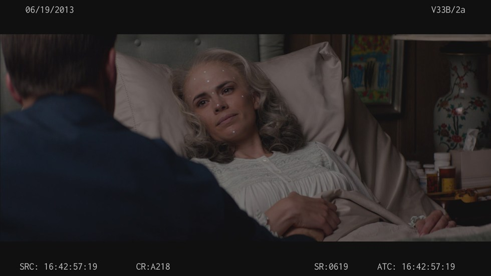 Peggy shots in 'Winter Soldier'