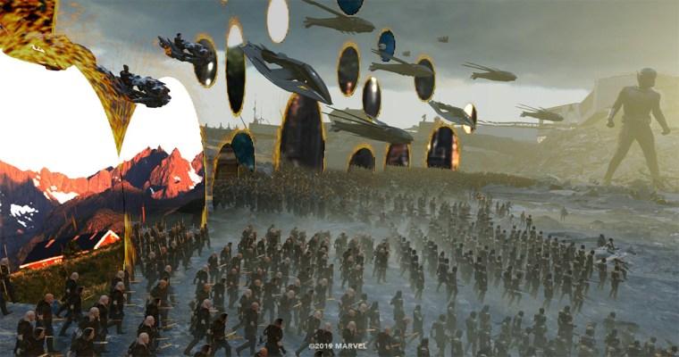 CG characters and environments