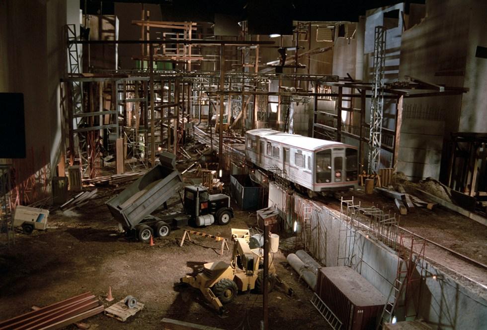 'Speed's' miniature L.A. Metro scenes