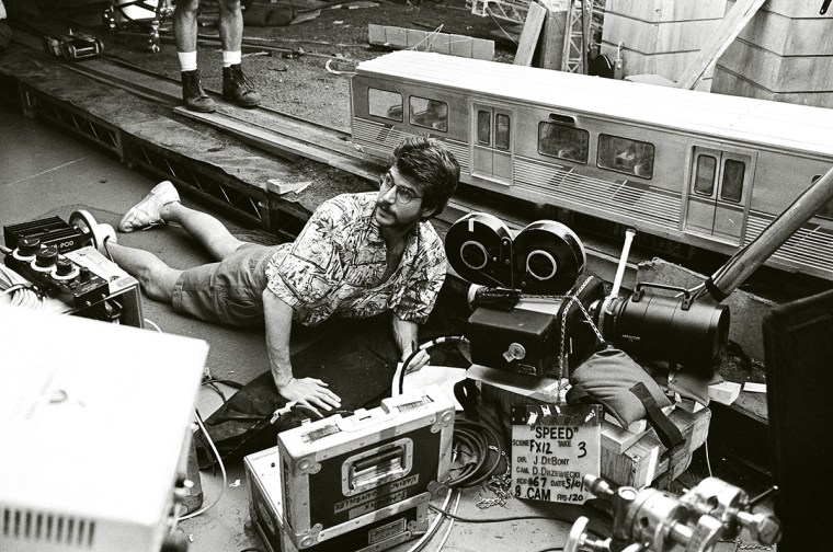 shooting 'Speed's' miniature L.A. Metro