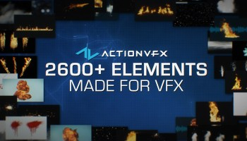 Get your VFX elements fix right here - befores & afters