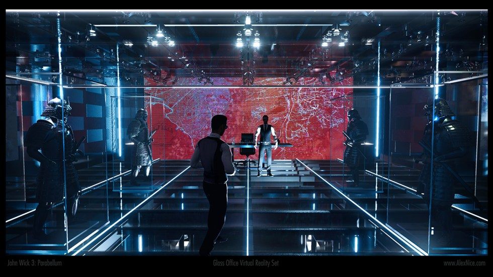 VR set John Wick 3