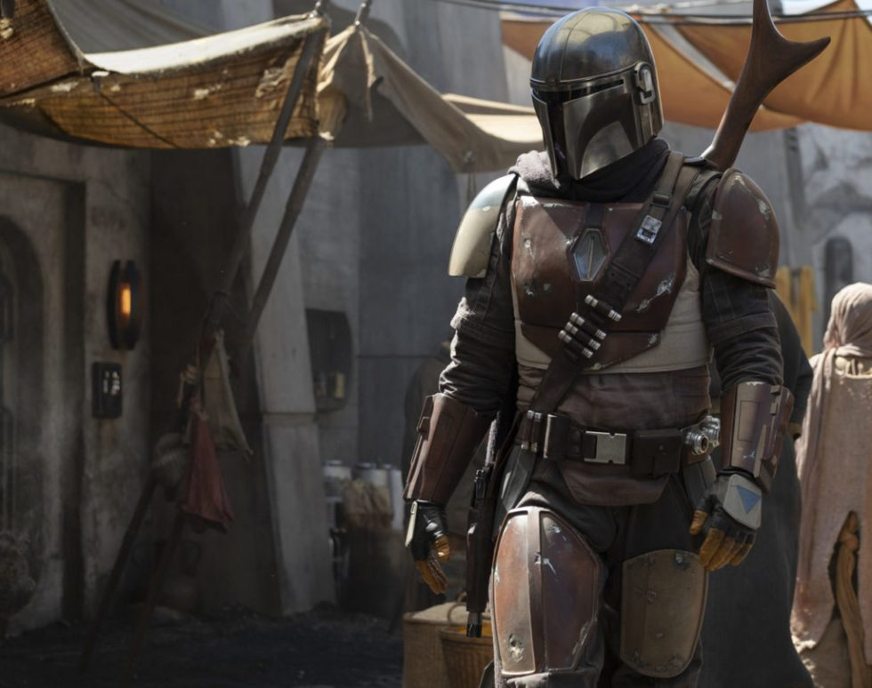A still released for 'The Mandalorian'