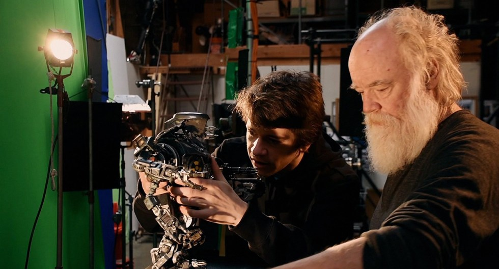 David Lauer and Phil Tippett