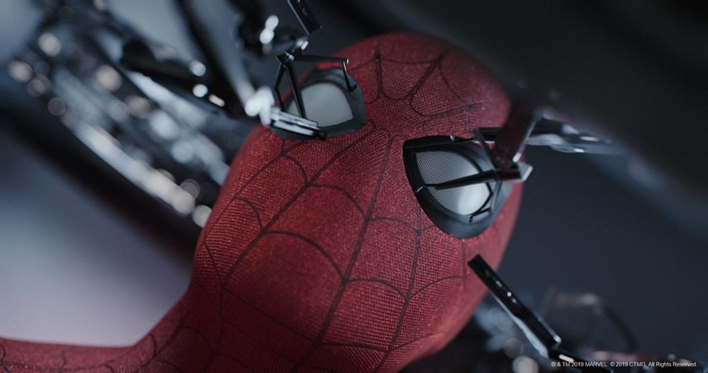 making Spider-Man suit
