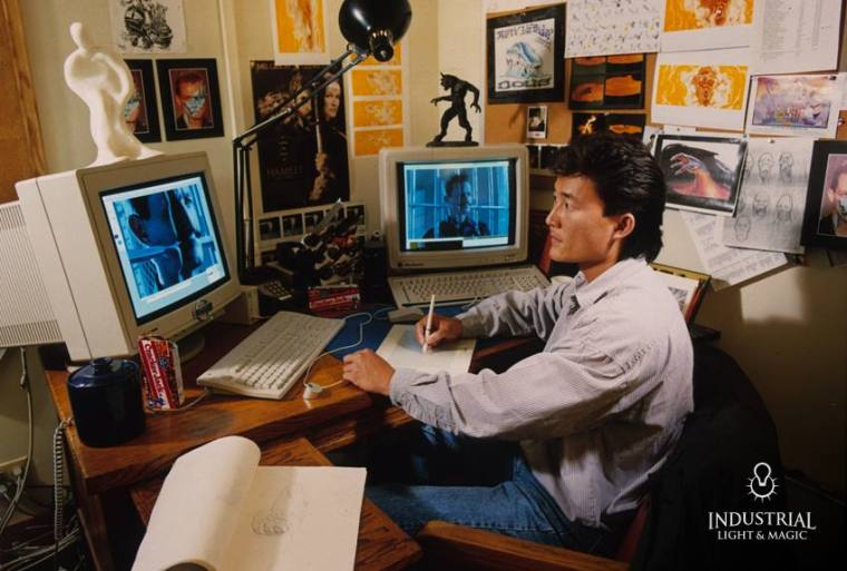 Visual effects art director Doug Chiang