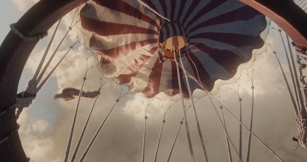The Aeronauts vfx scene