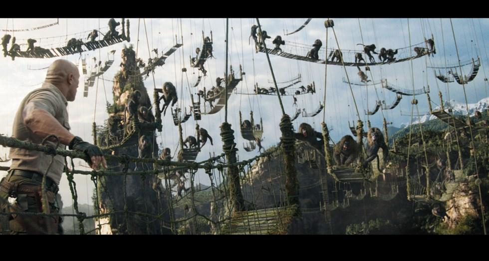 Jumanji movie scene