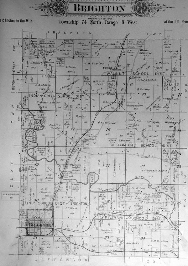 Washington County Iowa Map.20 Iowa County Plat Map Of Washington Pictures And Ideas On Meta