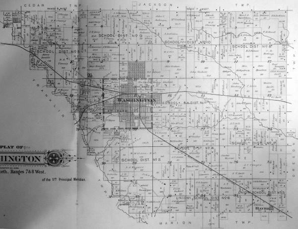 Washington County Iowa Map.20 Washington Iowa Pictures And Ideas On Meta Networks