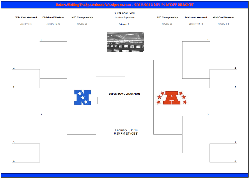 graphic about Nfl Brackets Printable identify Playoff Desk - Principlesofafreesociety