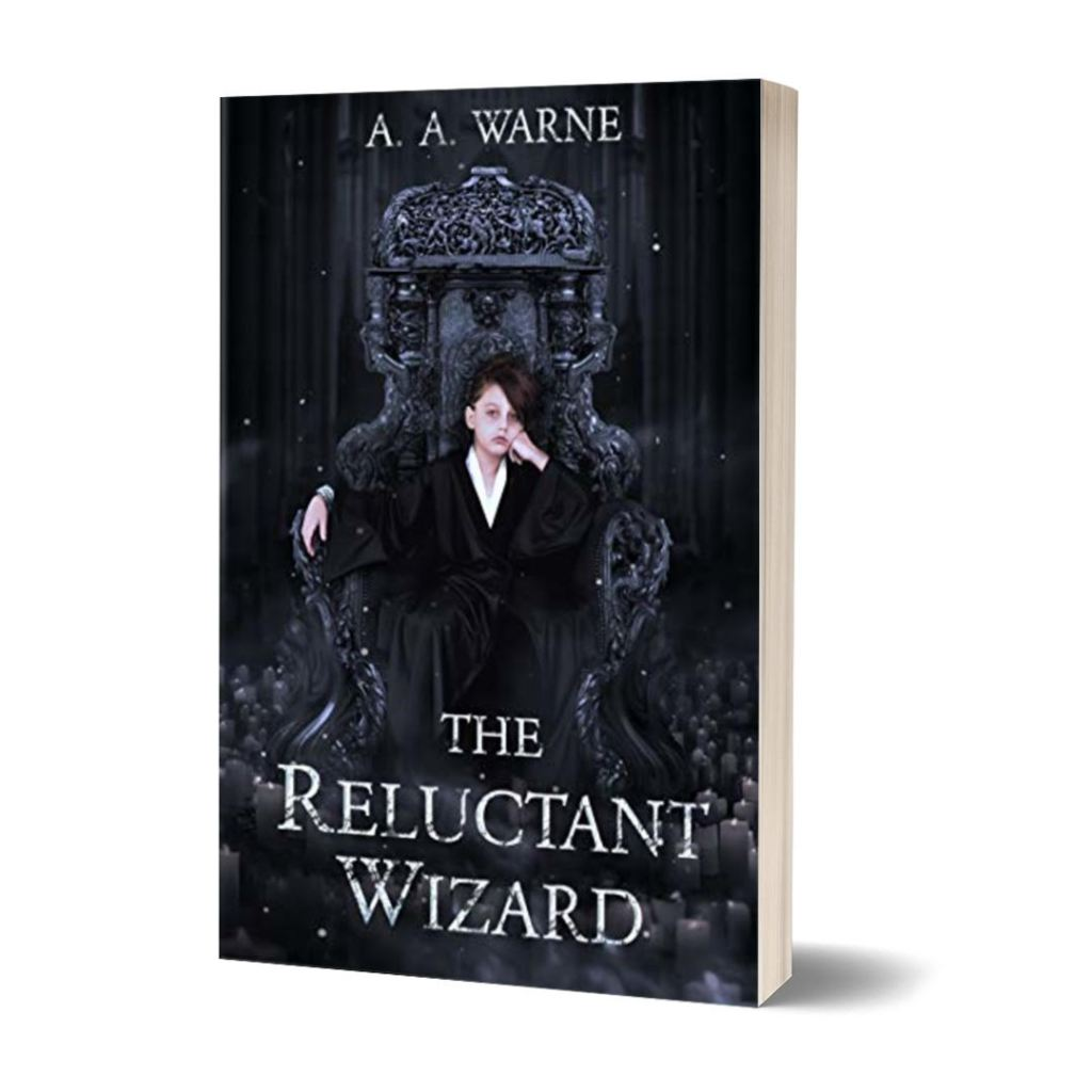 the reluctant wizard cover