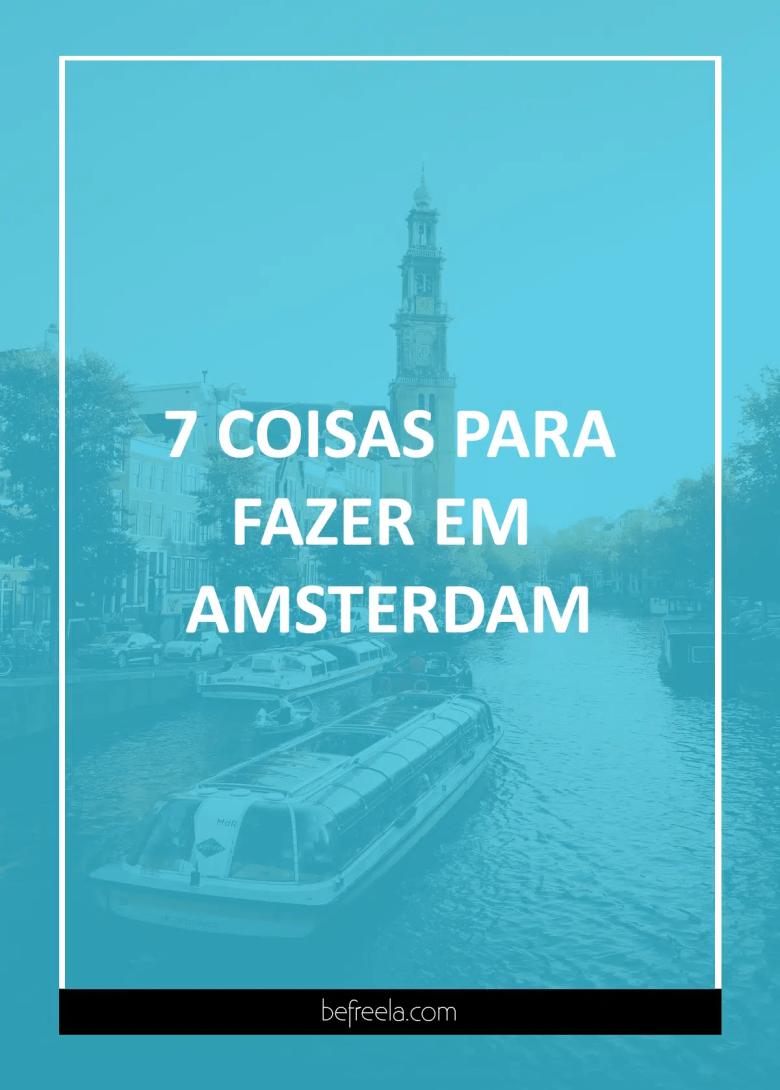 coisas para fazer em Amsterdam