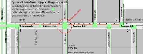 BegegnungBergmann Lageplanskizze