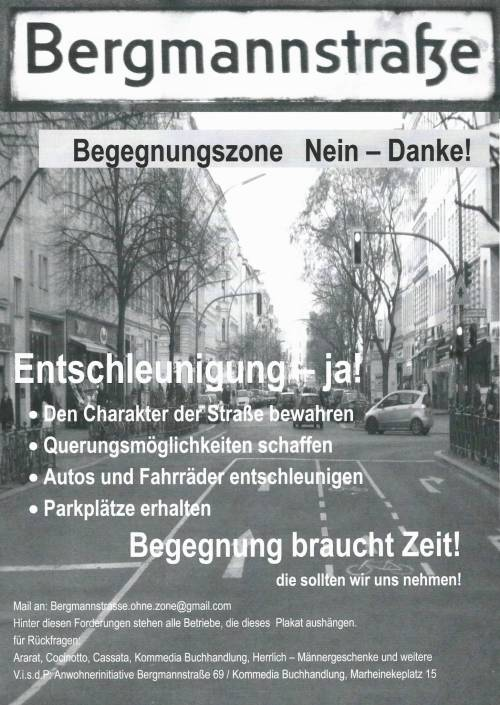 BegegnungBergmann 16101 - Plakat2 Begegnungszone Nein - Danke_ff_ff