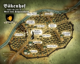warhammer fantasy maps map town roleplay goblin camp