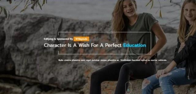 Edifying Blogger Template
