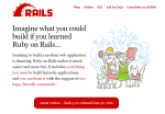 Ruby on Rails Official Website