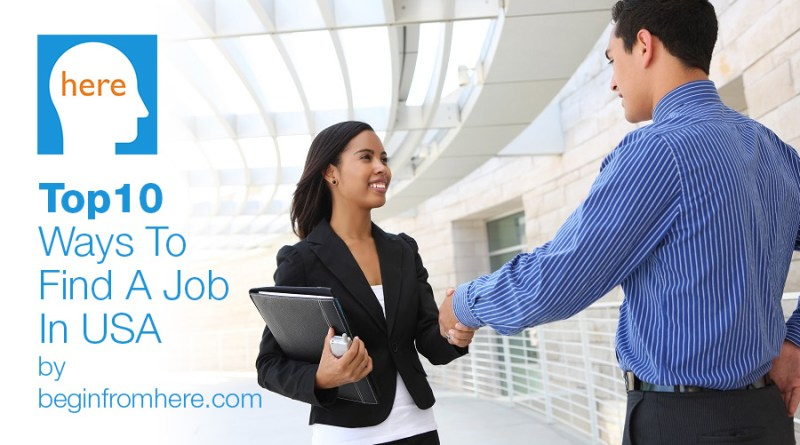 Top10 Ways To Find A Job In USA