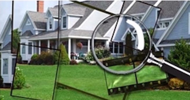 magnifying glass inspection a calgary home
