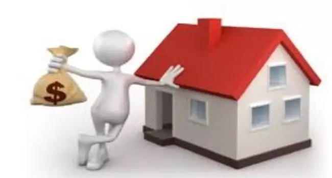 home inspection cost image with house and avatar holding money