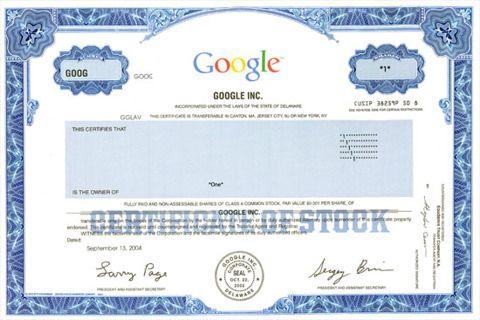 Aandeel Google