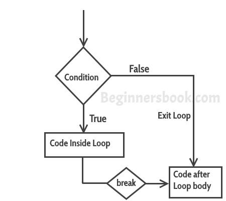 Break statement in C++ with example
