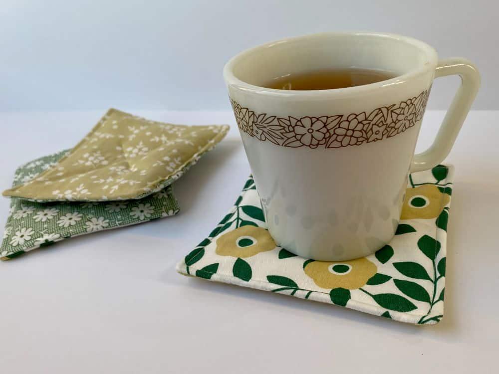 DIY Scented Mug Rug - Easy Sewing Tutorial