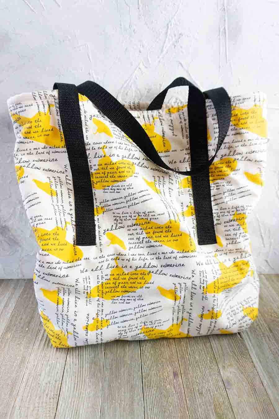 Easy Sew Tote Bag Tutorial