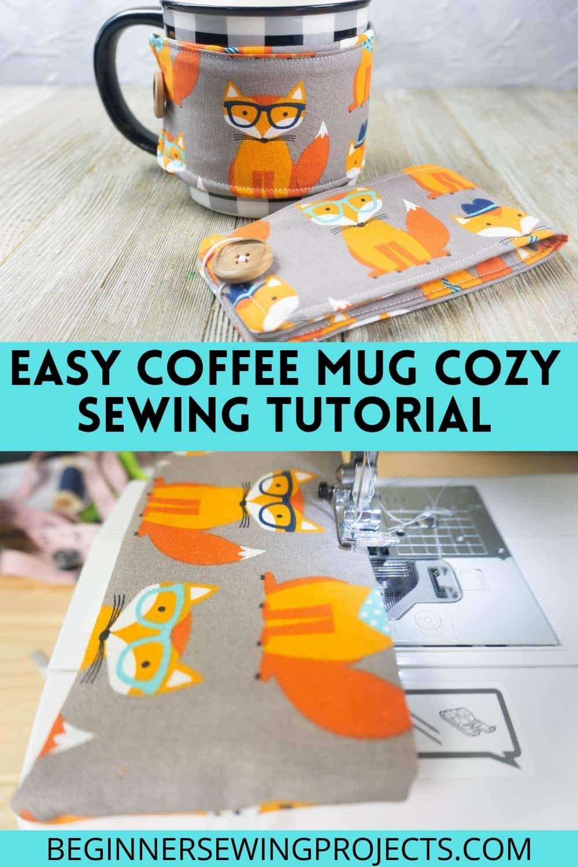 Easy Sew Mug Warmer Tutorial