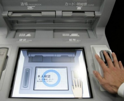 Japan Hand scan ATM | Illuminati New World Order Police State