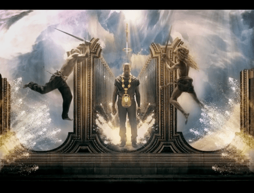 Kanye Power Video Freemasonic Initation | Illuminati Symbolism.