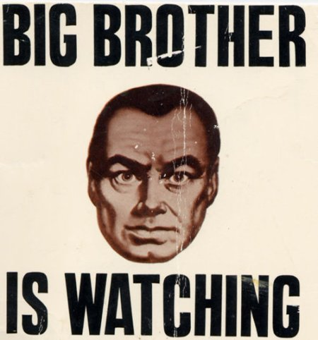 1984-poster Big Brother | Chick-Fil-A Free Speech New World Order
