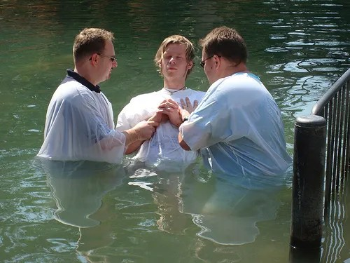 Jordan River Baptism | Baptismal regeneration refuted.