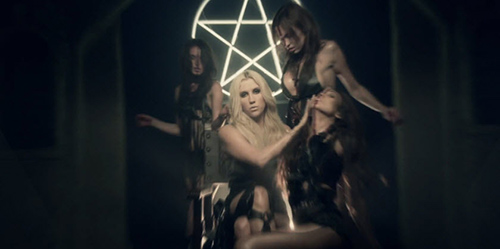 Ke$ha Throne | Die Young Video Illuminati Satanic