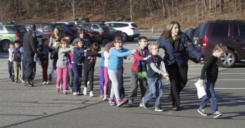 Newtown School Shooting Evacuation | Why does God allow evil?