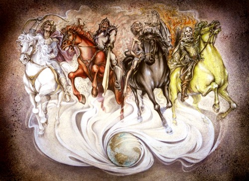 Four Horsemen | Revelation 6 First Four Seals Antichrist