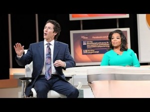 Joel Ostee and Oprah Lifeclass | Heresy I Declare New Age Book.