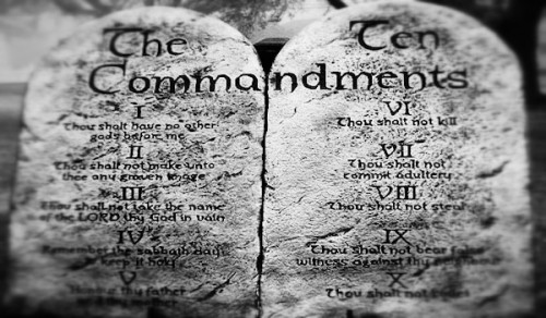 comparison between the ten commandments and 3:28, and gal 2:16 include the ten commandments in the definition of law  does the term law throughout the bible always include the ten commandments.