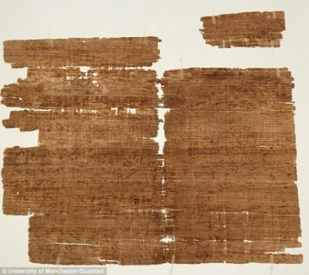 Proof of Jesus from outside of the Bible | Last Supper Papyrus found in Egypt.