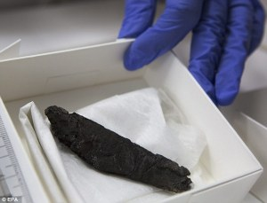 1,500 Year Old Scroll Contains Oldest Bible Text Since Dead Sea Scrolls