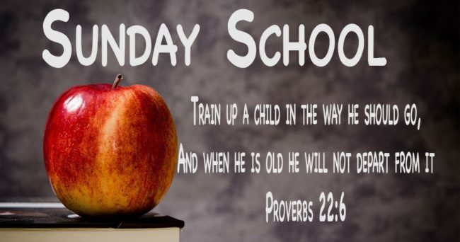 Free KJV Sunday School Lessons For Download | Beginning And End