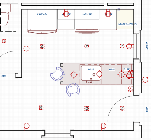 small resolution of how to create a lighting plan that will make your kitchen shine lighting diagram kitchen after