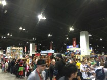 The sheer number of people in the exhibit hall