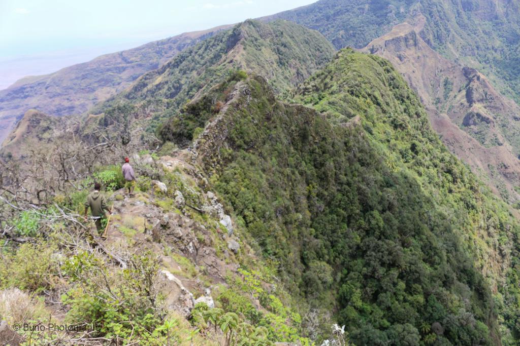 The Devil's Ridge, Mount Kulal
