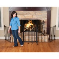 Fireplace Safety Fence for You - Begin Prepping Now!!