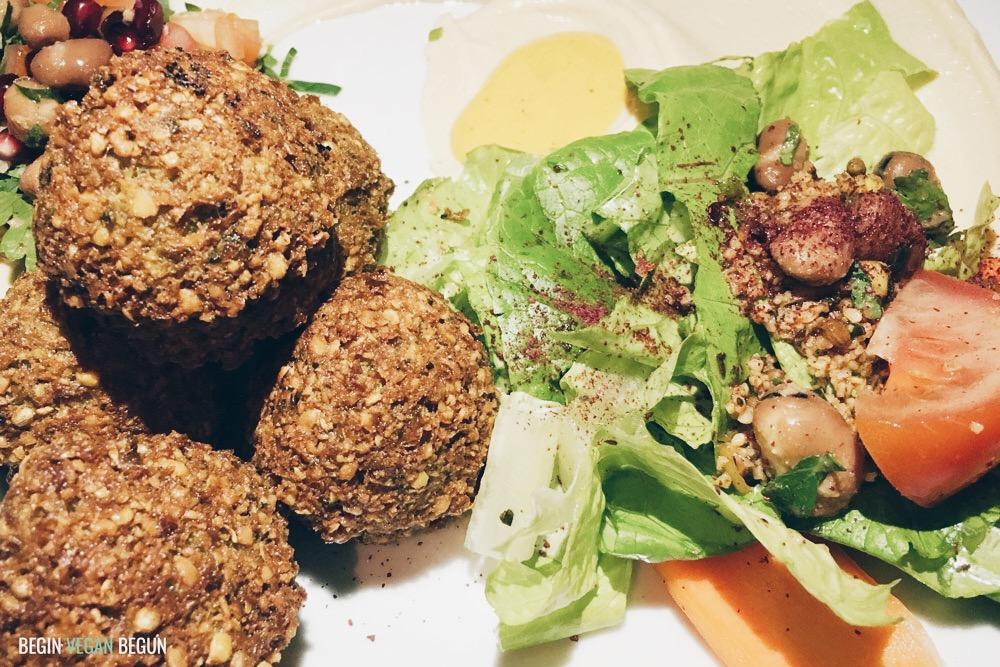 Berlin vegano falafel turco