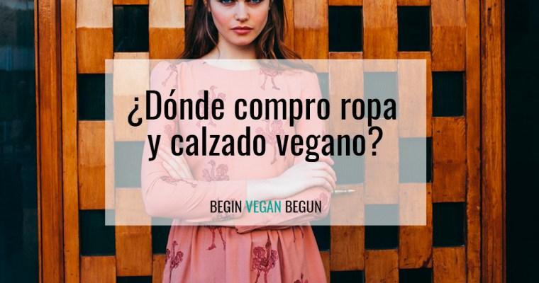 ¿Dónde compro ropa vegana y calzado vegano?